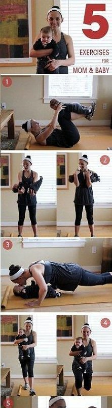Ćwiczenia dla mam:)