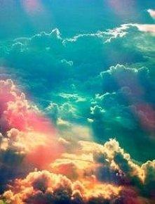 Kolorowe chmurki - proste! //♥