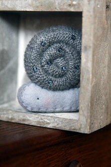 Mały szary ślimaczek (proj. made by agah)