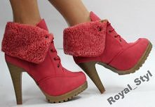 Royal_S* Ocieplane  Botki B...