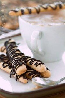 Kruche mandarynkowe paluszki, świetne do porannej kawy ;)