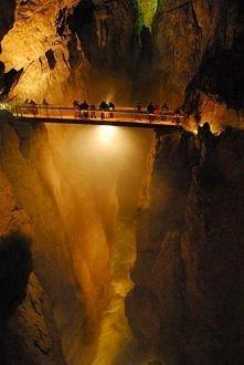 Słowenia, podziemny kanion