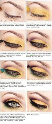 kolorowe oko