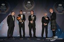 Sebastian Vettel, Coulthard, Todt, Ecclestone