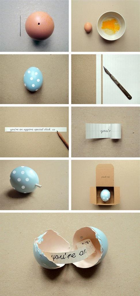 Świetny pomysł na składanie życzeń :)