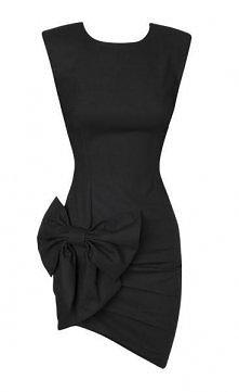 mała czarna - sukienka do uszycia :))