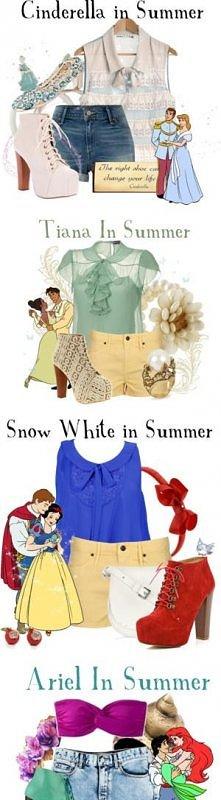 Bajkowe stylizacje na lato