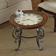 stół zegar