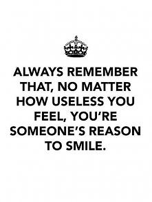 you're someone's ...