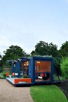 Mieszkanie z kontenera. bardzo tanio pomysl i taki nowoczesny. istnieja tez bloki... tak tak