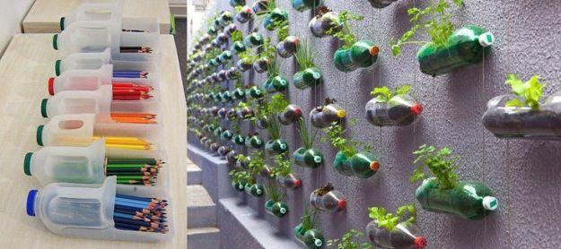 Oto co kreatywnego mo na zrobi po zu ytych plastikowych - Porta sacchetti ikea ...