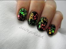 Water Spotted Nails