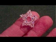 Beading4perfectionists : Tiny Swarovski beaded star tutorial