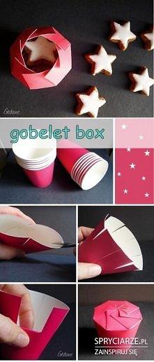 Pudełko z kubka