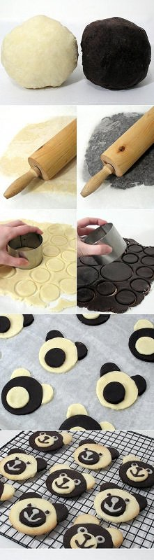 ciasteczka miś Panda :D