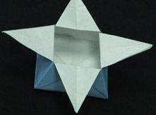 pudełko gwiazdka
