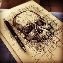 Skull poster