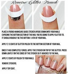 Prosty manicure trochę inaczej:) Spróbujesz?