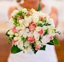 frezje i róże:)