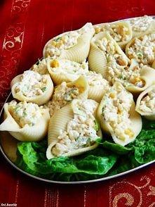 smakowite nadziewane muszle makaronowe