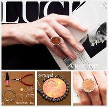 pierścień z monety