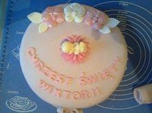 Tort wykonany na wierzchu j...