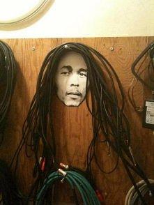 wieszak na kable ;)