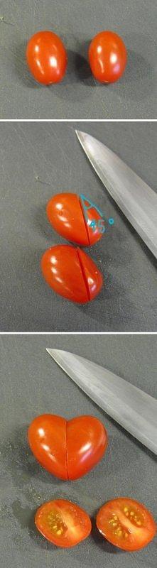 Walentynkowe serca z pomido...