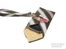 pokrowiec na telefon z krawata / pakowanie prezentów :)