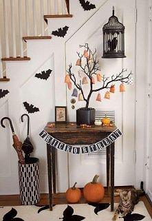DIY ozdóbki Halloween