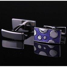 Cheap Purple Rectangle man cufflinks 13787