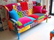 patchwork'owa sofa