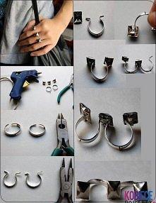 zrób sama pierścionek
