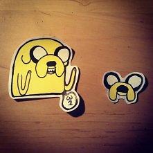 Adventure Time jake. Naklejka. Tradycyjnie zapraszam do śledzenia www instagr...