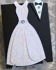 Kartka z okazji ślubu. W ko...