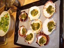 zapiekane ostrygi na ostro