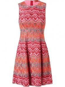 MISSONI Crochet Embroidered Dress