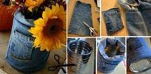 słonecznik w dżinsach!
