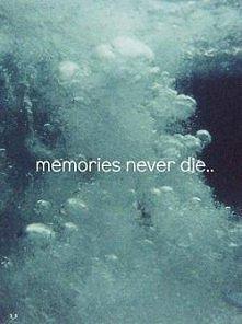 memories never die .
