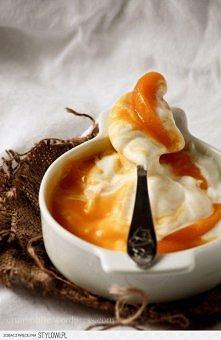 Lekki jak chmurka mus serowy z brzoskwiniami |   Przepis na lekki mus serowy ...