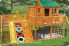domek ogrodowy dla dzieci. a może by tak spróbować samemu taki zbudować ;)