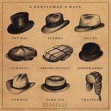 kapelusz dżentelmena