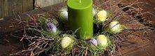 Piękny stroik na Wielkanoc.