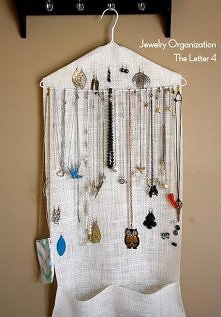 wieszaczek na biżuterię DIY