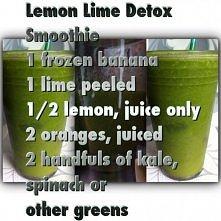 lemon lime detox smoothie