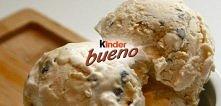 przepis na lody z Kinder Bueno