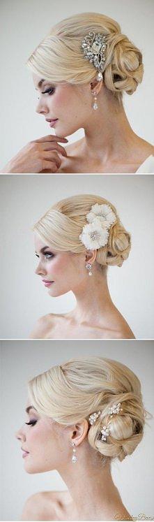Jedna fryzura ślubna - trzy...