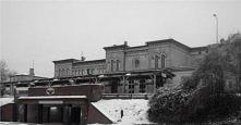 Dworzec kolejowy- żary