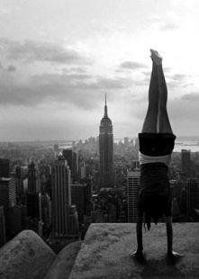 Nowy Jork w tle *.*