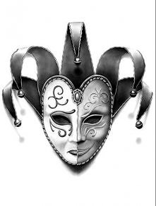 happy/sad mask